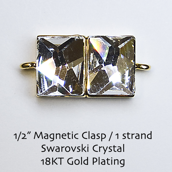 "1/2"" Magnetic Clasps"