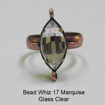 BW17 Glass Marquise Ring