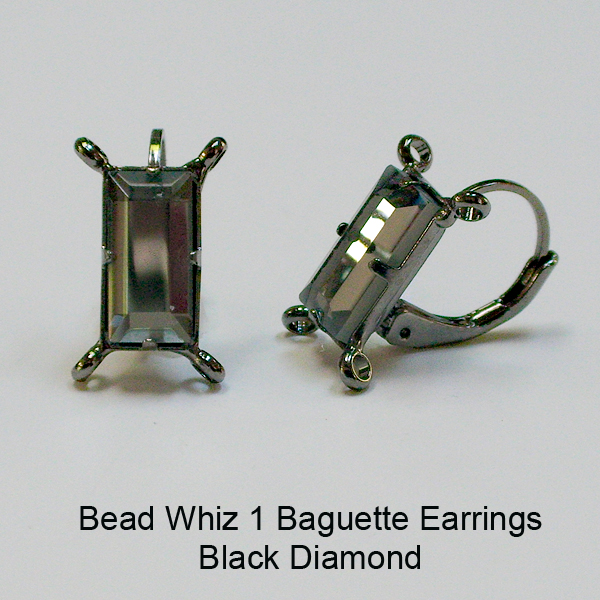 BW1 Baguette Earrings