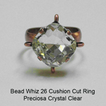 BW26 Preciosa Cushion Cut Ring