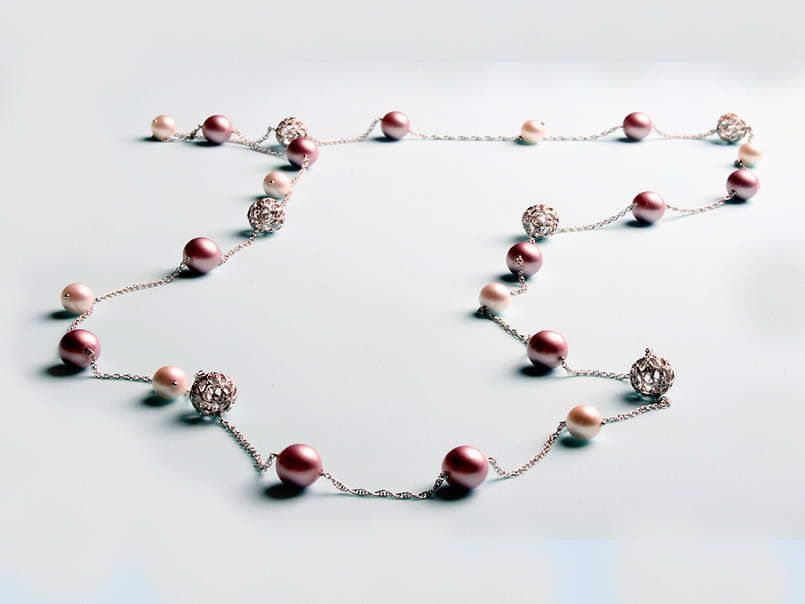 """Odelia"" Pearl Necklace"