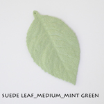 Suede Leaf_Medium_Mint