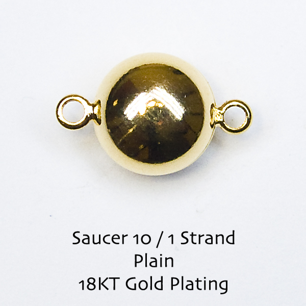 Saucer10 Magnetic Clasps - Click Image to Close