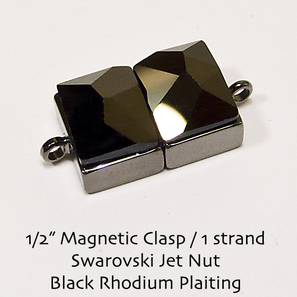 "1/2"" Magnetic Clasps - Click Image to Close"