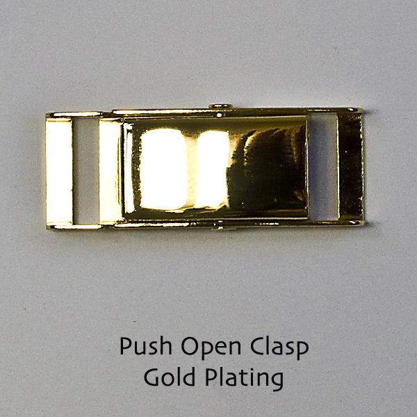 Push Open Clasps - Click Image to Close