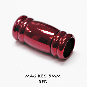 COLORED MAG KEG 6MM - Click Image to Close