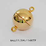 Ball 11.5mm Magnetic Clasps