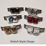 Watch Style Clasps