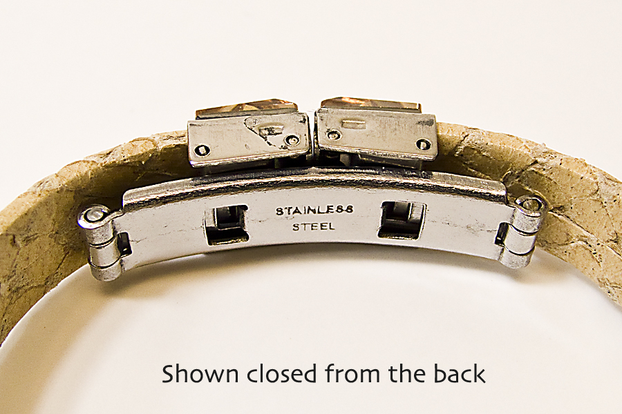 Watch Style Clasp - Click Image to Close
