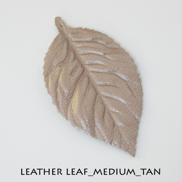 Leather Leaf_Medium_Tan