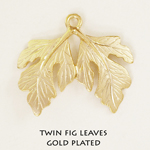 Twin fig leaves